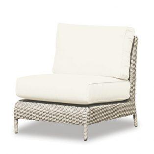 Manhattan armless club chair