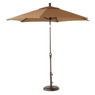 9' Market umbrella - Sesame