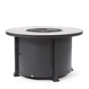 "36"" Round Santorini occasional height fire pit - Urban Effect top"