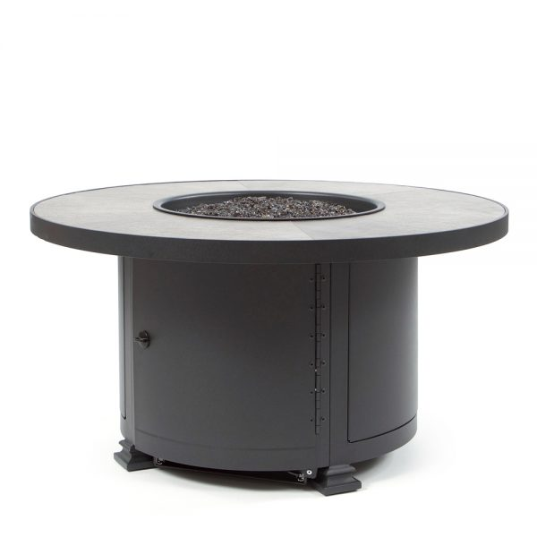 """42"""" Round chat height Santorini fire pit - Urban Effect"""