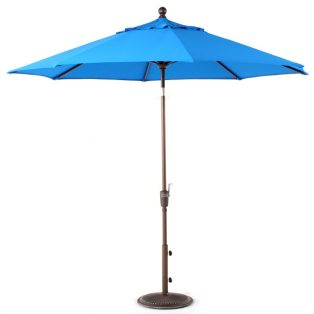 9' Market umbrella - Cobalt
