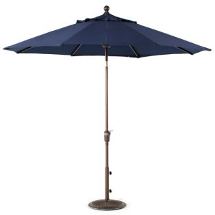 9' Market umbrella - Navy