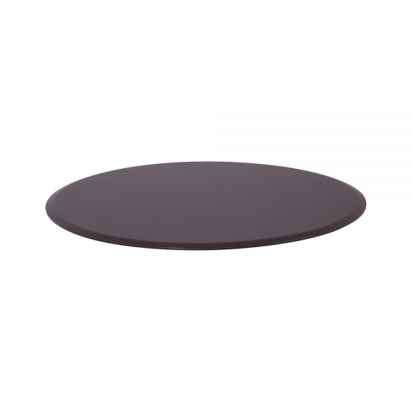 """OW Lee extra small round fire pit flat cover for 16"""" round burner"""