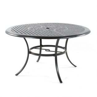 "Coronado 54"" round dining table with lazy susan"
