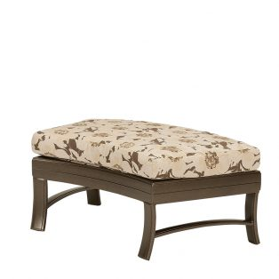 "Ravello crescent ottoman bench 38"" x 24"""