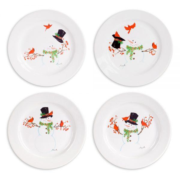 Snowman Plate (Set of 4)