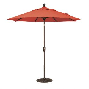 7.5' Market umbrella - Jockey Red