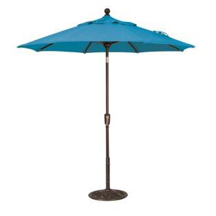 7.5' Market umbrella - Pacific Blue
