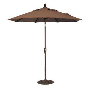 7.5' Market umbrella - Teak
