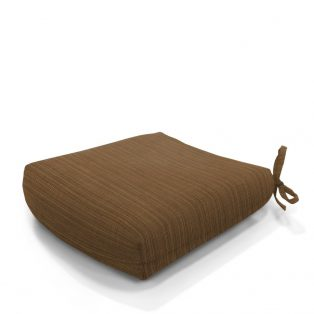 Hanamint tapered seat cushion - Dupione Oak