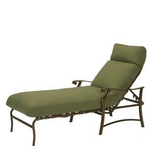 Tropitone Montreux outdoor aluminum chaise lounge