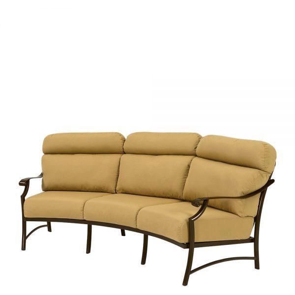 Tropitone Montreux II crescent sofa