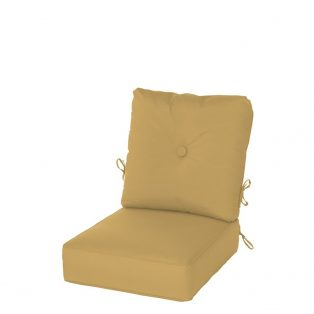 Hanamint Estate series deep seating cushion with Sunbrella Fabric