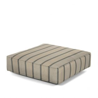 Hanamint Estate series ottoman cushion with Sunbrella fabric