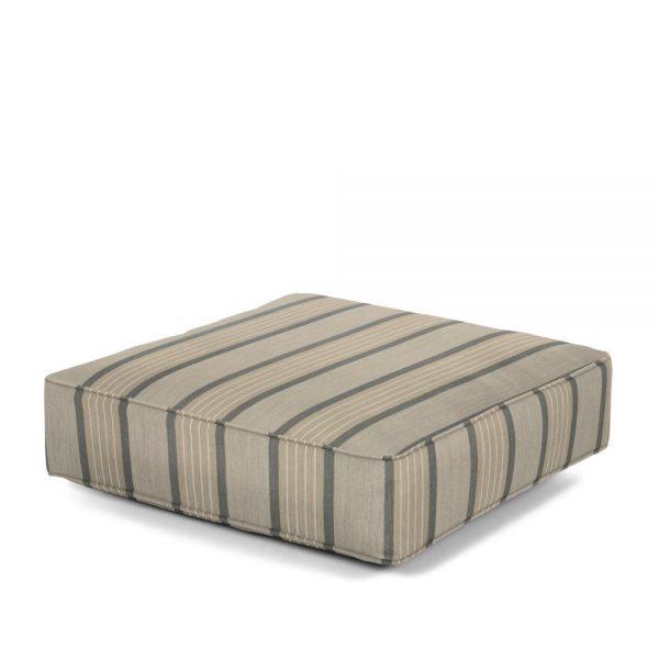 Hanamint Estate series ottoman cushion with Sunbrella fabric