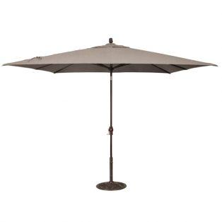 8' x 10' Market umbrella - Cast Shale