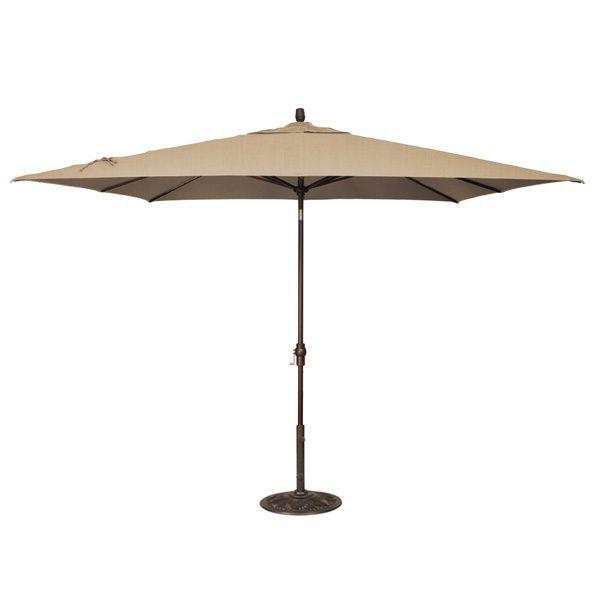 8' x 10' Market umbrella - Heather Beige