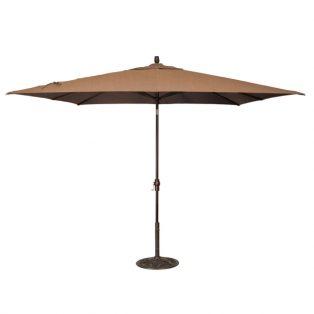 8' x 10' Market umbrella - Teak