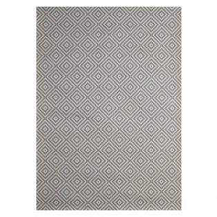 "Athens Silver 7'10"" x 10' outdoor are rug from Treasure Garden"