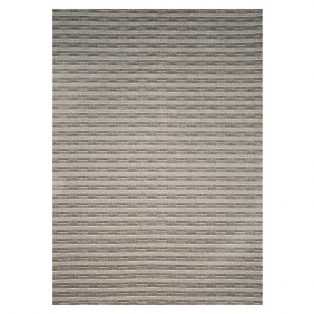 Ridge Charcoal 7' x 10' patio rug from Treasure Garden