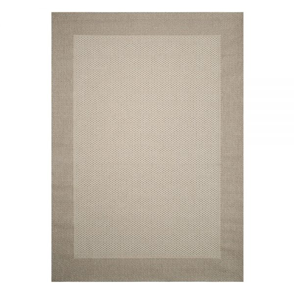 Savannah Cottonwood 7' x 10' patio rug from Treasure Garden