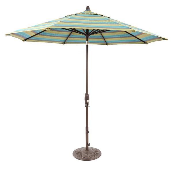 9' Market umbrella with auto tilt - Astoria Lagoon