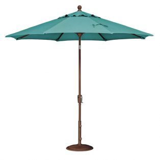 9' Market umbrella - Aqua