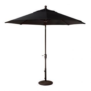 9' Market umbrella - Black