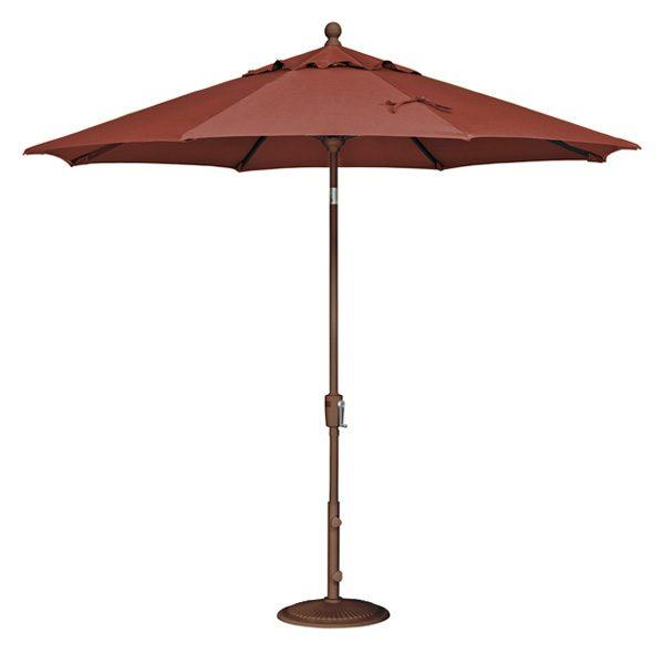 9' Market umbrella - Burnt Orange