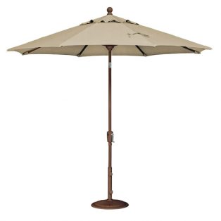 9' Market umbrella - Heather Beige