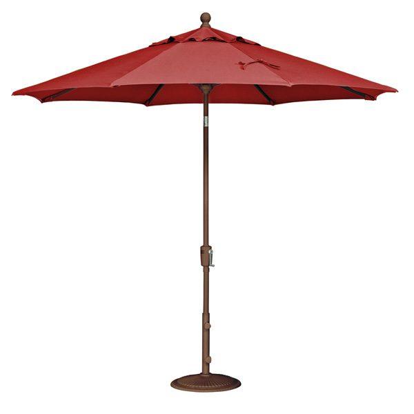 9' Market umbrella - Jockey Red