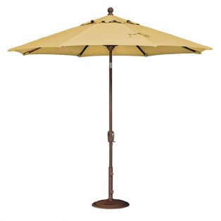 9' Market umbrella - Lemon