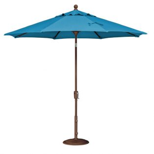 9' Market umbrella - Pacific Blue