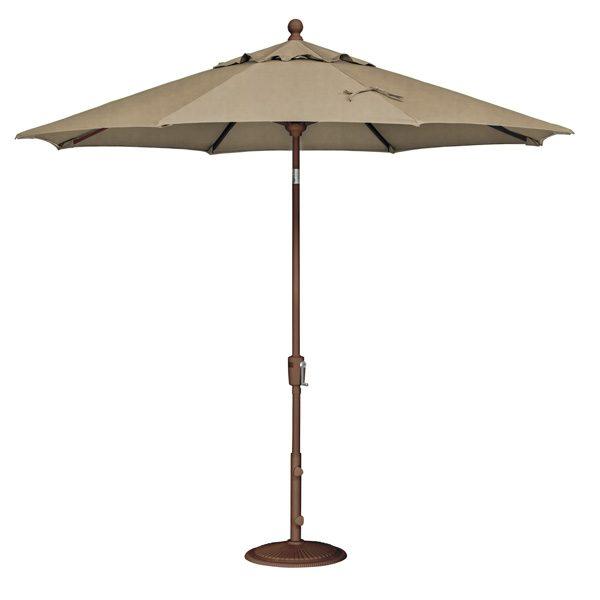 9' Market umbrella - Sesame Linen