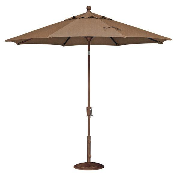 9' Market umbrella - Teak