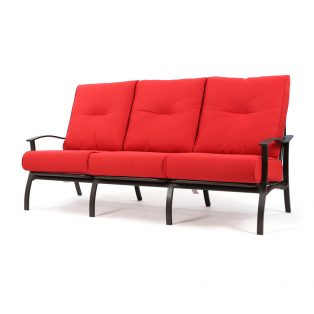Albany outdoor sofa with Flagship Ruby cushions