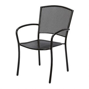 Albion dining chair with Textured Black finish