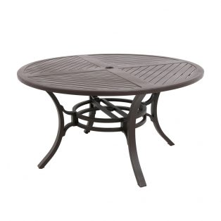 """Allegro 54"""" round outdoor dining table"""