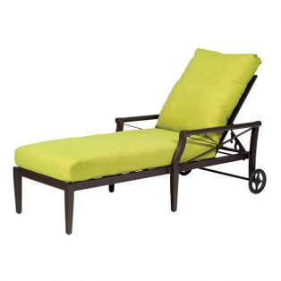 Andover aluminum chaise lounge