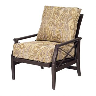 Andover aluminum outdoor rocking lounge chair