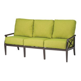 Andover outdoor aluminum sofa
