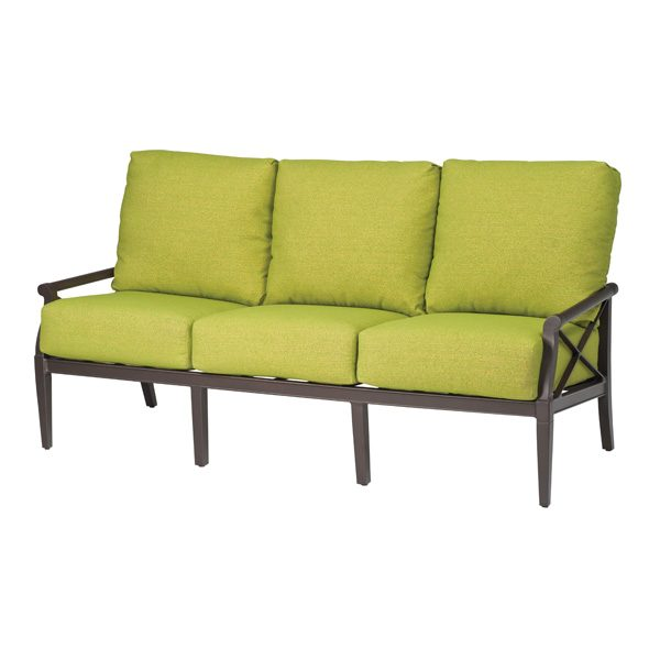Andover outdoor aluminum sofa