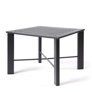 "Aris 28"" square side table"