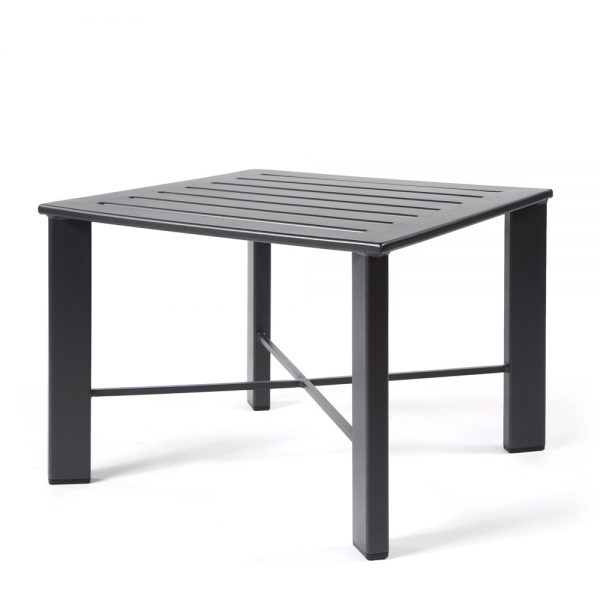 """Aris 28"""" square side table"""