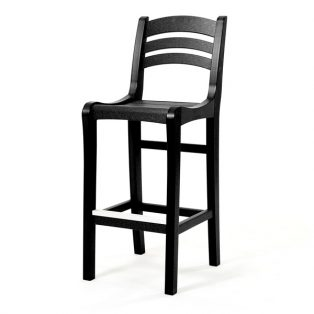 Charleston bar chair - Black