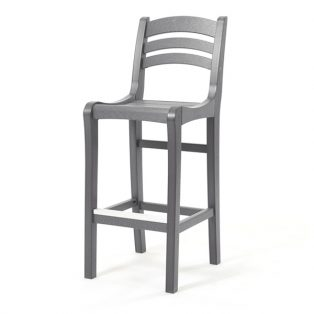 Charleston bar chair - Charcoal