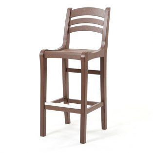 Charleston bar chair - Chestnut