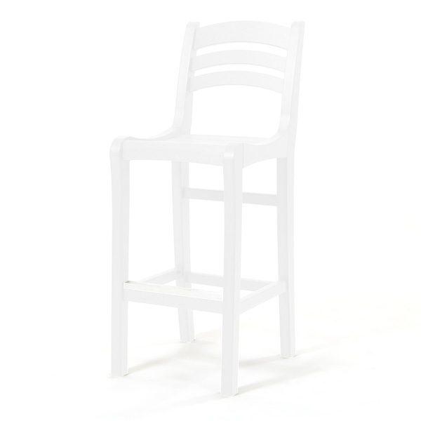 Charleston bar chair - White