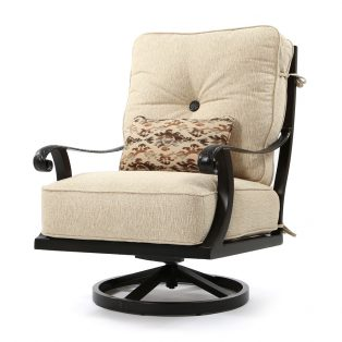 Bellagio high back swivel lounge chair