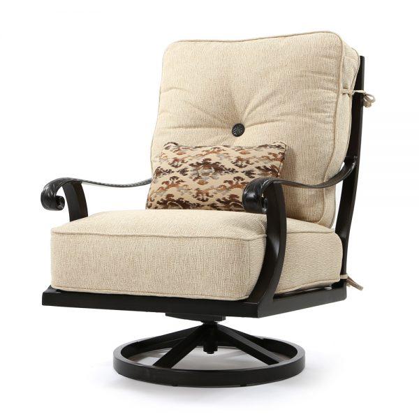 Bellagio high back swivel lounge chair